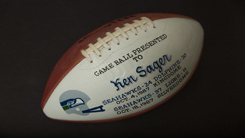 7654f3337 Carver Memories - Ken Sager becomes first WWU athlete to play in NFL ...