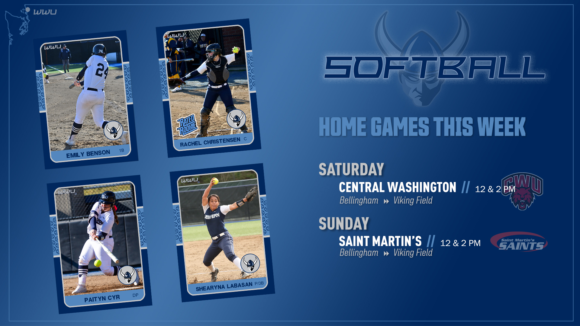Softball Returns To Viking Field This Weekend Western Washington